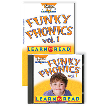 Funky Phonics®: Learn to Read, vol. 1, Digital Download