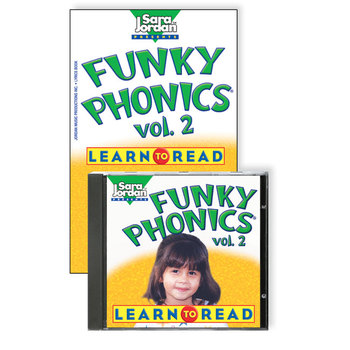 Funky Phonics®: Learn to Read, vol. 2, Digital Download
