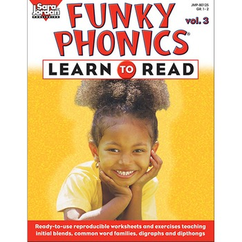 Funky Phonics ®: Learn to Read, vol. 3