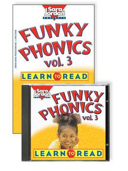 Funky Phonics®: Learn to Read, vol. 3, Digital Download