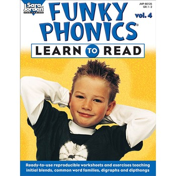 Funky Phonics ®: Learn to Read, vol. 4