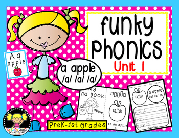 Funky Phonics: Unit 1 {Alphabet}