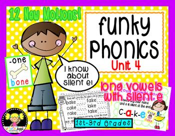 Funky Phonics: Unit 4 {Long Vowels}