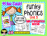 Funky Phonics: Unit 5 {Sight Words}