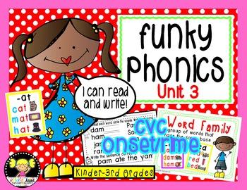 Funky Phonics: Units 1-4 Bundled
