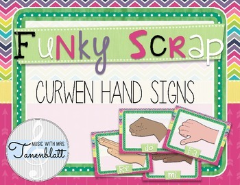 Funky Scrap Hand Signs
