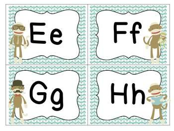 Funky Sock Monkey Classroom Fun Set!