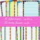 FRAMES / DIGITAL PAPER - Funky collection: 32 items!