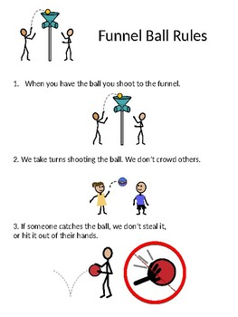 Funnel Ball Rules