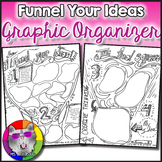 Funnel Your Ideas: Brainstorm Graphic Organizer FREEBIE