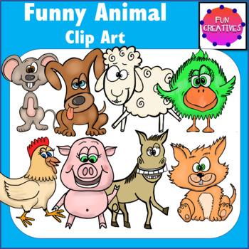 Funny Animal Clip Art