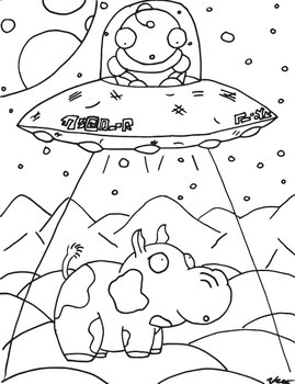 Funny Animal Coloring Book 1