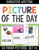 Funny  Picture Prompts for Narrative Writing BUNDLE