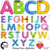 Funny Balloon Alphabet and Clipart, {Best Teacher Tools} AMB-2469