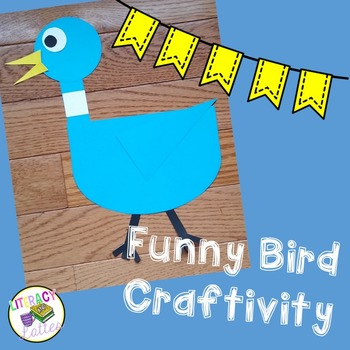 Funny Bird Craft with Speech Bubbles