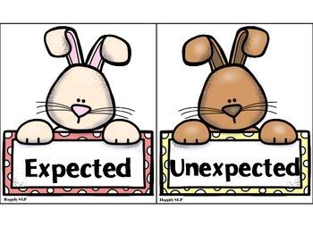 Funny Bunnies: Social Scenario Packet