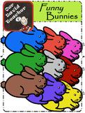 Rainbow Rabbits / Bunnies { OurDavidTeacher }