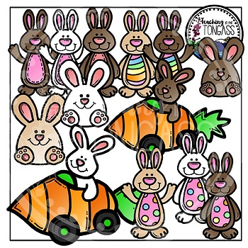 Easter Bunny Clipart (Easter Clipart)