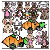 Silly Easter Bunny Clipart (Easter Clipart)