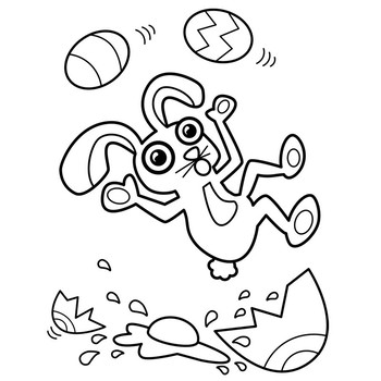 Funny Bunny Freebie Clipart