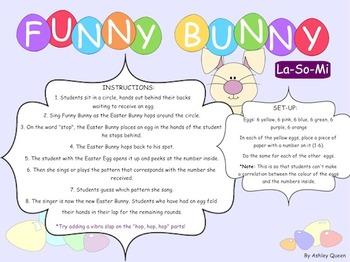 Funny Bunny: La-So-Mi
