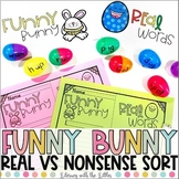 Funny Bunny (Real and Nonsense Sort & Word Building Activi