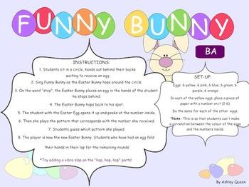 Funny Bunny Recorder: BA