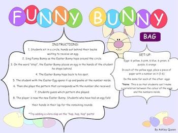 Funny Bunny Recorder: BAG