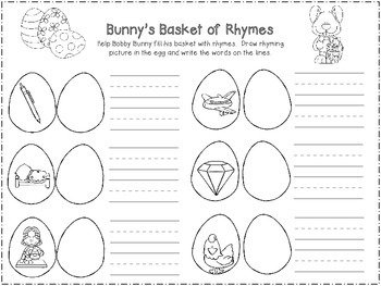 Funny Bunny's Basket of Rhymes