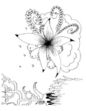 Funny Creatures Coloring Sheet