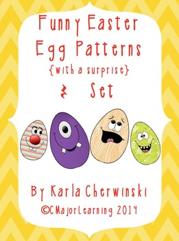 Funny Easter Egg Patterns {with a surprise} rest