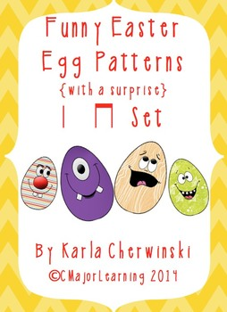 Funny Easter Egg Patterns {with a surprise} ta and ti-ti
