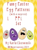 Funny Easter Egg Patterns {with a surprise} tam ti & ti tam