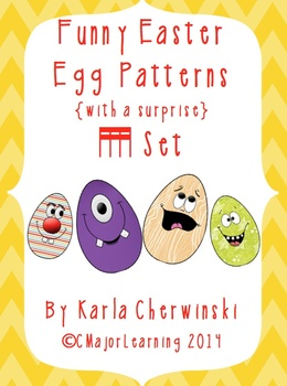 Funny Easter Egg Patterns {with a surprise} tika tika (sixteenth notes)