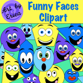 Face Clip Art : Clipart Showing Funny Faces