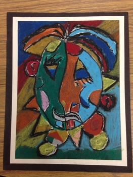 """Funny Face"" Picasso...in the style of Pablo Picasso"