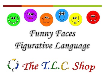 {DISCOUNTED ITEM} Funny Faces Figurative Language