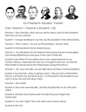 Funny Facts About Our Presidents - Readers' Theater and Writing Activity