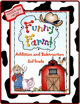 Funny Farm Addition and Subtraction Game