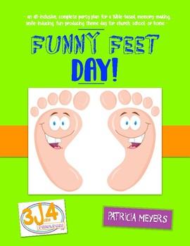 Funny Feet Theme Day Plan