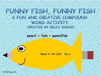 Funny Fish, Funny Fish - A Compound Word Activity