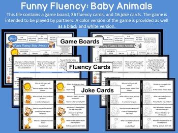 Funny Fluency: Baby Animals