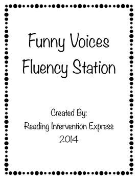 Funny Fluency: Fluency Station