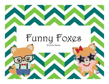 Funny Foxes Points Game