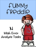 Funny Freddie - Math Error Analysis Tasks