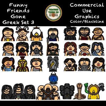 Funny Friends 17-Gone Greek Part 3-Jumbo Bundle