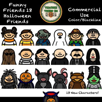 Funny Friends 18- Halloween Friends