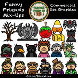 Funny Friends 19- All Mixed Up-Graphics Collection
