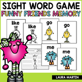 Sight Word Games-Monster Memory