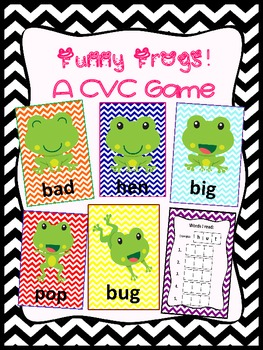 Funny Frogs CVC Game